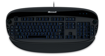 Microsoft Gaming Keyboard - Reclusa topview